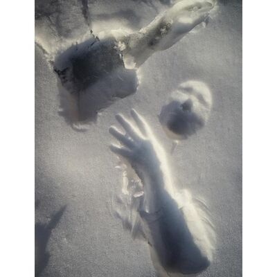 "Amy Regalia, '""Snow Self Portrait 10""', 2021"