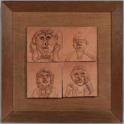 K. G. Subramanyan, 'Portraits No. 3', 1978