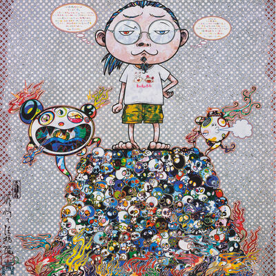 Takashi Murakami, 'A Space for Philosophy', 2013
