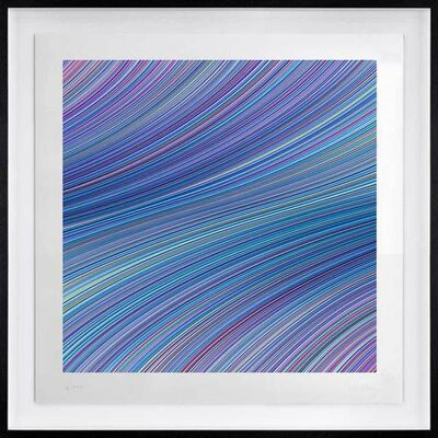 Kai & Sunny, 'Passage of Time (Blue & Lilac)', 2020