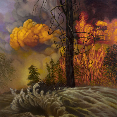 Joan Wadleigh Curran, 'Fire and Flood', 2018