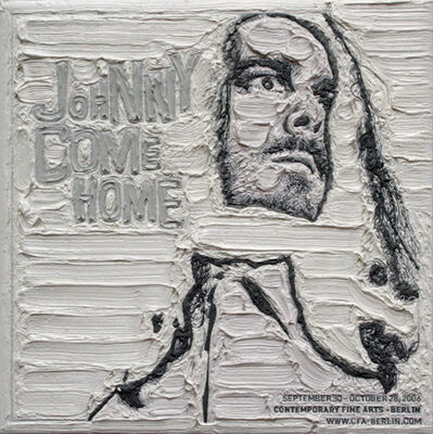 Simon Linke, 'Jonathan Meese (white)', 2007