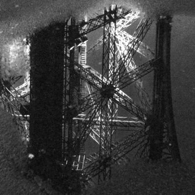 Manss Aval, 'La Tour Eiffel Nuit Pluie ', 2016
