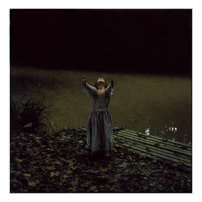 Cristina Fontsare, 'By the Pond - Contemporary, Polaroid, Photograph, Figurative, Childhood, 21st Century', 2014