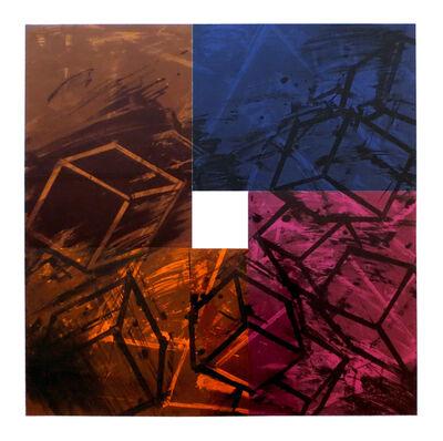 Mel Bochner, 'Four Color Quartets, 1 of 4', 1990