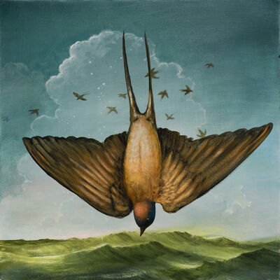 Kevin Sloan, 'The Ascension of St. Swallow', 2019