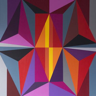 Marianela Perez, 'Red harmony', 2018