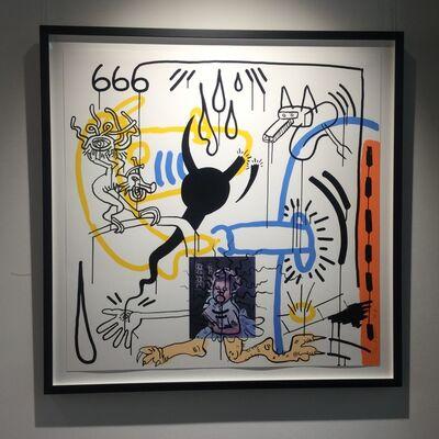 Keith Haring, 'Apocalypse No. 8', 1988