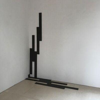 Jan Kubíček, 'die aktion mit dem quadrat im raum der ecke', 1985 , 1988, 2019