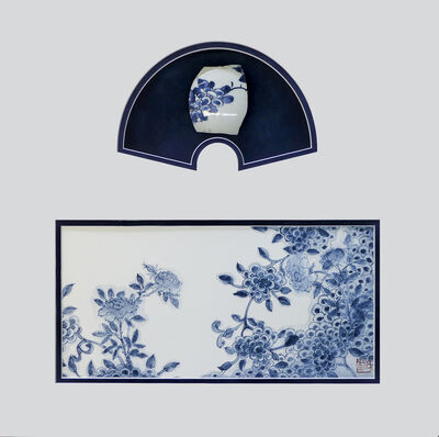 Hyo Bin Kwon, 'Blue and white Impressions Garden', 2017