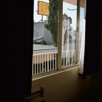 Zoe Crosher, 'The LAX Marietta's Inn, from the series Out The Window (LAX)', 2003