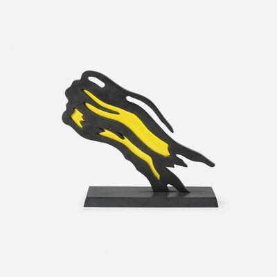 Roy Lichtenstein, 'Weisman Award (Yellow Brushstroke)', 1991