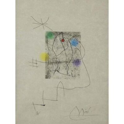 Joan Miró, 'El Inocente', ca. 1974