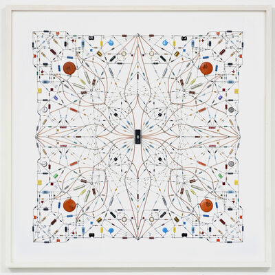 Leonardo Ulian, 'Technological mandala #64', 2015