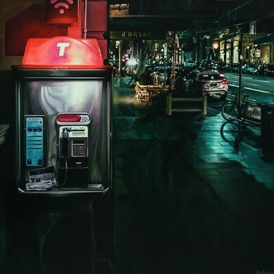 Steve Rosendale, 'Phone Booth (Collins Street)', 2019