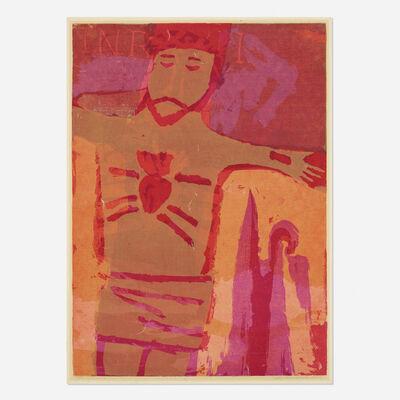 Corita Kent, 'plan of his heart', 1960