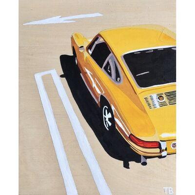 Tara Barr, 'Yellow Porsche', 2019
