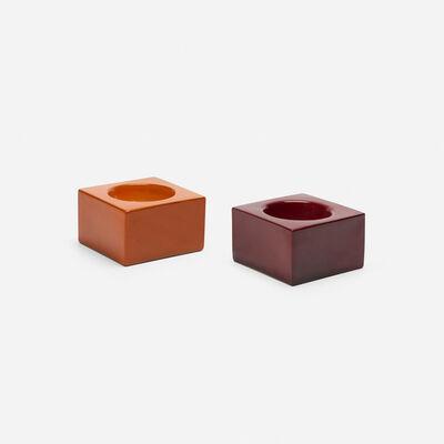 Ettore Sottsass, 'bowls, pair', 1962-63