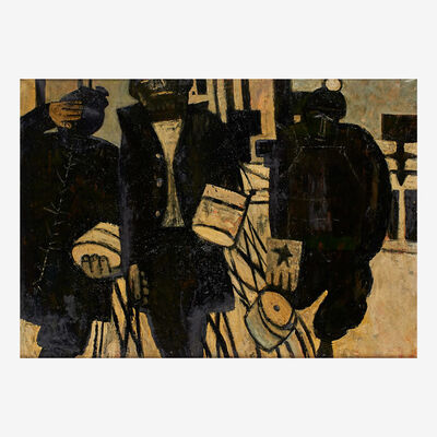Gregorio Prestopino, 'The Men'