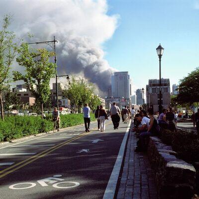 Mira Bernabeu, 'West Street #2. Panorama Rehabilitación', 2001