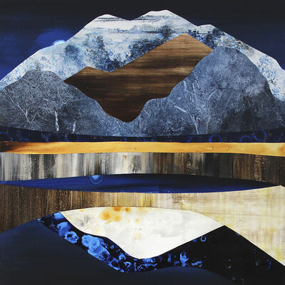 Sarah Winkler, 'Moonrise Mountain', 2021