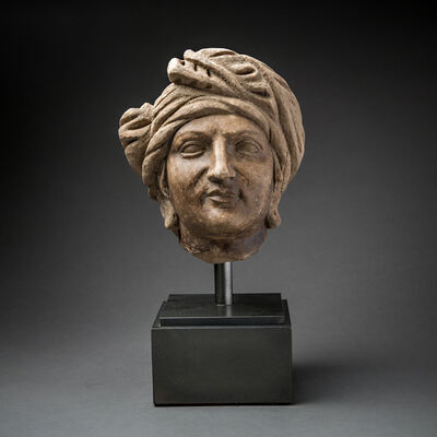 Unknown Bactrian, 'Royal Marble Head', 300 BC to 100 BC