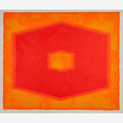 Nobu Fukui, '#2 Orange-Red', 1972