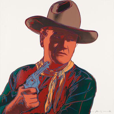 Andy Warhol, 'John Wayne, from Cowboys and Indians', 1986