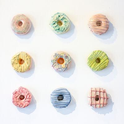 Liv Antonecchia, 'Pastel Goo Donut Set'