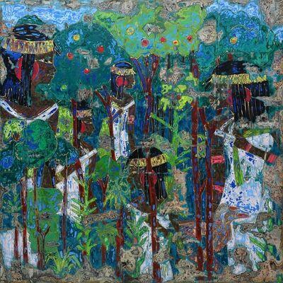 Ibrahim Khatab, 'Fields of Multidimensional', 2020