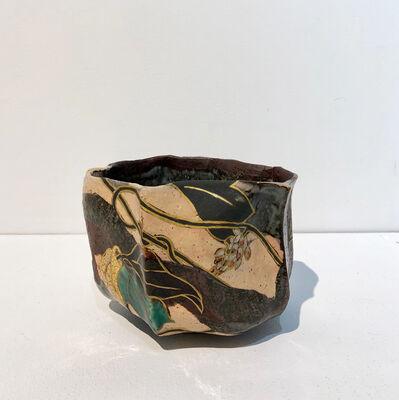 Takuo Nakamura, 'Kutani Tea Bowl with Rimpa Design ', 2017