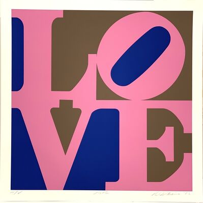 Robert Indiana, 'A Garden of Love - Lilac', 1982