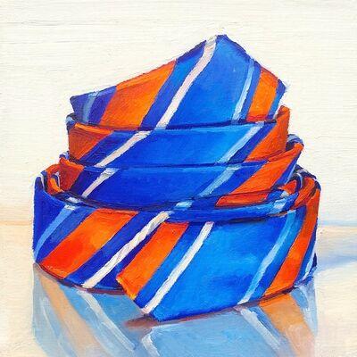 Ray Kleinlein, 'Blue and Orange (Tie)', 2016