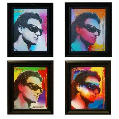 Peter Max, 'Bono (Set of 4)', 2003