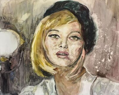 """Patty Rooney, '""""I am desperate and vulnerable...I am always terrified."""" -- Faye Dunaway', 2017"""