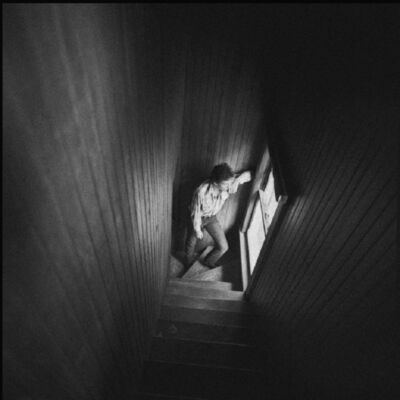 David Michael Kennedy, 'Bruce Springsteen in Stairway ', 1982