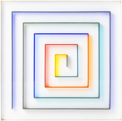 Gregorio Vardánega, 'Spirale Cromatica', 1971