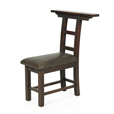 Roycroft, 'Meditation chair, East Aurora, NY'