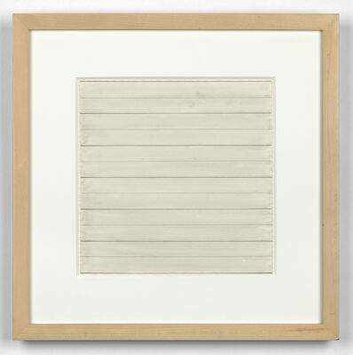 Agnes Martin, 'Untitled', 1995