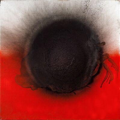 Otto Piene, 'Le rouge et le noir', 2011