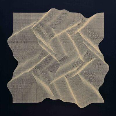 Roberto lucchetta, 'Texture Golden 2019', 2019