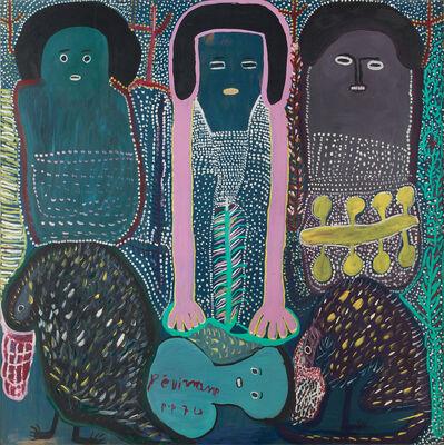 Prospère Pierre-Louis, 'Three Loas', 1974