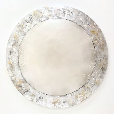 Takefumi Hori, 'Circle No. 163 (Round Canvas)', 2020