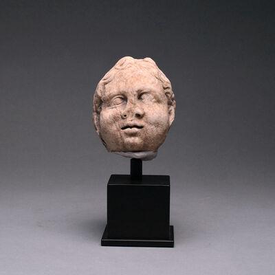 Unknown Roman, 'Roman Marble Head of a Child', Roman Marble Head of a Child