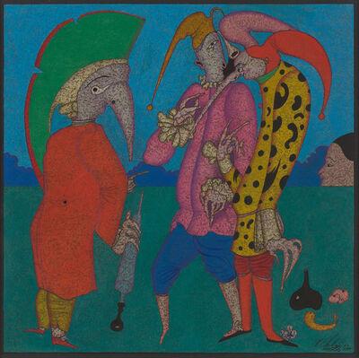 Mihail Chemiakin, 'Three Jesters', 1980