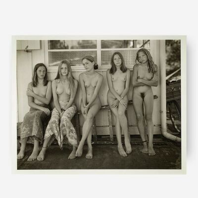 Jock Sturges, 'Tracy, Alice, Melanie, Estelle & Mylene, France', 1996