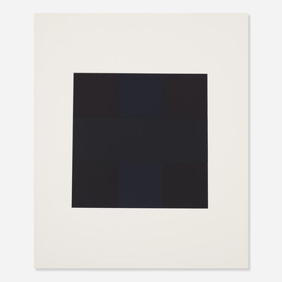 Ad Reinhardt, 'Untitled from the X + X (Ten Works by Ten Painters) portfolio', 1964