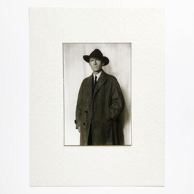 August Sander, 'Portrait of Otto Dix', 1928/1986