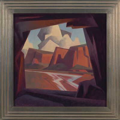 "Ed Mell, '""Stone Window"" '"
