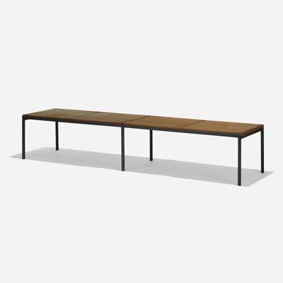 Florence Knoll, 'T Angle bench', 1956